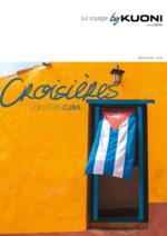 Catalogues et collections  : Croisières Cuba 2017-2018