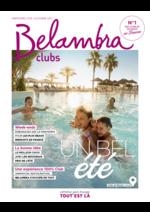 Catalogues et collections  : Belambra clubs été 2017