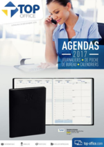 Catalogues et collections Top office : Agendas 2017