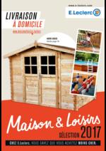Prospectus E.Leclerc : Maison & Loisirs sélection 2017