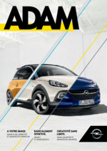 Catalogues et collections opel : Opel Adam