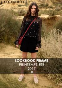Catalogues et collections Promod Taverny : Lookbbook printemps été 2017