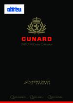 Catálogos e Coleções  : Cunard Cruise Collection