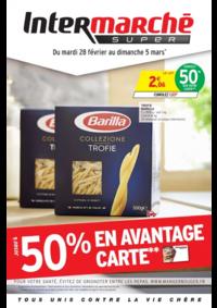 Prospectus Intermarché Super Villeneuve le Roi : Jusqu'à 50% en avantage carte
