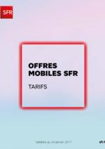 Catalogues et collections SFR : Offres mobiles SFR