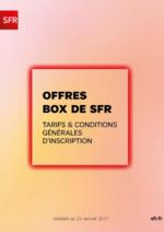 Catalogues et collections  : Offres Box de SFR