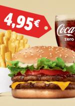Menus Burger King : Découvrez les nouveaux menus