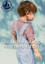 Promos et remises  : Lookbook garçon printemps été 2017