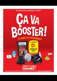 Prospectus Simply Market PARIS 204/206 rue de Tolbiac : Ça va booster !