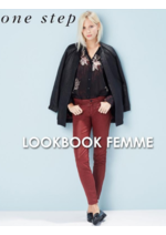 Catalogues et collections One Step : Feuilletez le lookbook femme