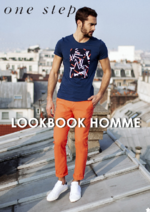 Catalogues et collections One Step : Feuilletez le lookbook homme