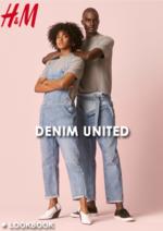 Catalogues et collections H&M : Lookbook Denim United