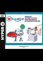Prospectus Hyper U : U location