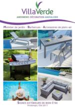 Catalogues et collections Villaverde : Mobilier de jardin, barbecues, accessoires de plein-air