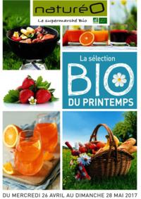 Prospectus NaturéO LIVRY-GARGAN : La sélection Bio du printemps