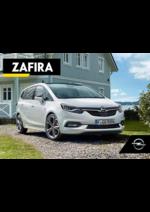 Catálogos e Coleções Opel : Catálogo Opel Zafira