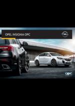Catálogos e Coleções Opel : Catálogo Opel Insignia OPC