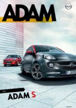 Catálogos e Coleções Opel : Catálogo Opel Adam
