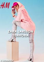 Catálogos e Coleções H&M : Lookbook Zara Larsson - Senhora
