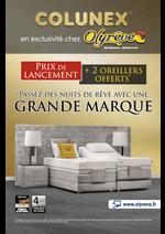 Promos et remises  : COLUNEX, En Exclusivité chez Olyrêve