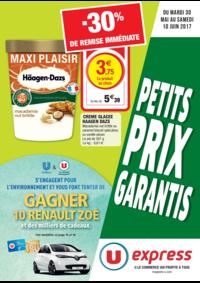 Prospectus U Express PARIS - R. MONTREUIL : Petits prix garantis