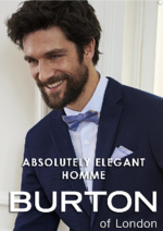 Catalogues et collections Burton : La campagne Absolutely elegant homme