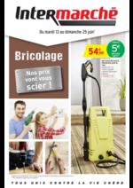 Prospectus Intermarché Super : Bricolage : nos prix vont vous scier !
