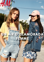 Catalogues et collections H&M : Lookbook femme Un air d'Islamorada