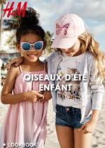 Catalogues et collections H&M : Lookbook enfant Oiseaux d'été