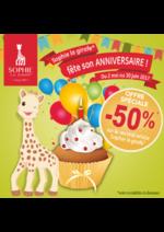 Bons Plans King Jouet : -50% sur le second article Sophie la Girafe