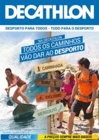 Folhetos DECATHLON Montijo : Todos os caminhos vão dar ao desporto