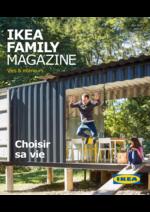 Journaux et magazines IKEA : Ikea Family Magazine Été 2017