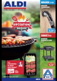 Prospectus Aldi Pierres : Opération Barbecue