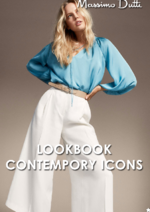 Catalogues et collections Massimo Dutti : Lookbook Contempory Icons