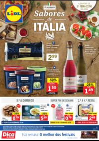 Folhetos Lidl Almada : Sabores de Itália