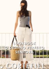 Catálogos e Coleções Cortefiel Alfragide Alegro : Lookbook: O destino perfeito - senhora