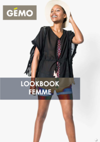 Catalogues et collections Gemo FRESNES : Lookbook femme