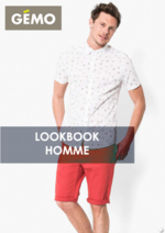 Catalogues et collections Gemo : Le lookbook homme