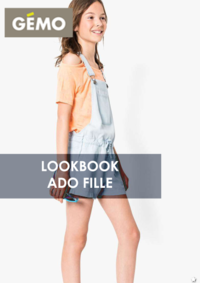 Catalogues et collections Gemo ORGEVAL : Lookbook ado fille