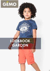 Catalogues et collections Gemo ROSNY SOUS BOIS : Lookbook garçon