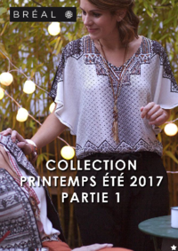Catalogues et collections Bréal Paris 9 : Collection printemps été 2017 partie 1
