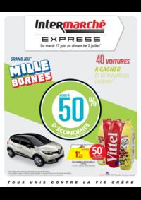 Prospectus Intermarché Express PARIS Ornano : Grand jeu mille bornes III