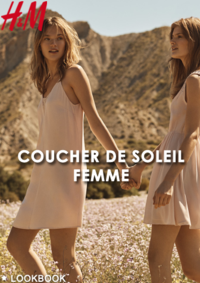 Catalogues et collections H&M Paris 120 rue de Rivoli : Lookbook femme Coucher de soleil