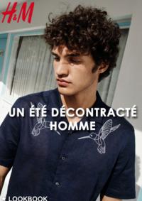 Catalogues et collections H&M Issy Les Moulineaux : Lookbook homme Un été décontracté