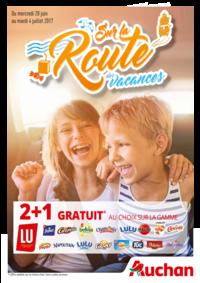 Prospectus Auchan Vélizy : Sur la route des vacances