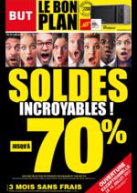 Prospectus BUT : Soldes incroyables, jusqu'à -70%