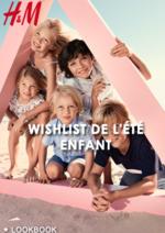 Catalogues et collections H&M : Lookbook enfant Wishlist de l'été