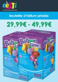 Catalogues et collections Festi : Bouteilles d'hélium pour vos fêtes