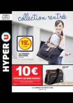 Prospectus Hyper U : Collection rentrée