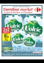 Prospectus Carrefour Market : Fête de l'eau